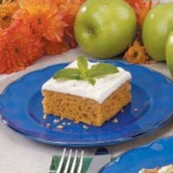 No-Fuss Pumpkin Cake
