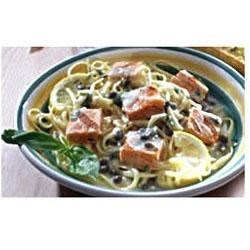 Grilled Salmon Piccata