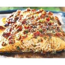Grilled Cedar-Planked Salmon