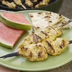 Tandoori-Style Grilled Chicken Kebobs