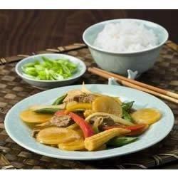 Szechuan Stir Fry Beef and Potatoes