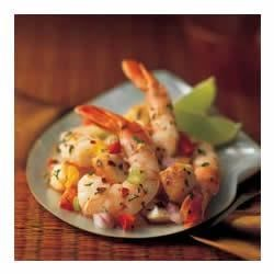 Caribbean-Marinated Shrimp and Scallops