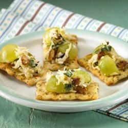 Swiss Cheese and Grape Salsa