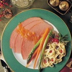 Tangy Apricot Glazed Ham