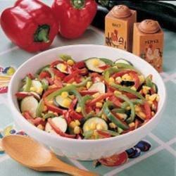 Zucchini and Corn Saute