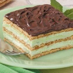Pistachio Eclair Dessert