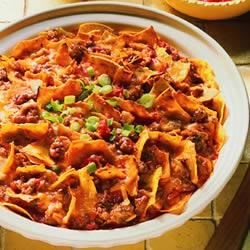 Sausage Taco Bake Recipe - This salsa and cheese sausage casserole is easy to prepare, making it an excellent weeknight dinner option.