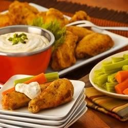 Half-Time Nibblin' Dijon-Ranch Chicken Wings