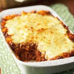 Quick Lasagna Casserole Recipe - Instead of layering the ingredients, this lasagna recipe mixes the pasta and Classico(R) Tomato and Basil pasta sauce together, then tops with cheese to cut prep time.