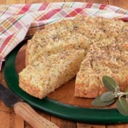 Rustic Round Herb Bread