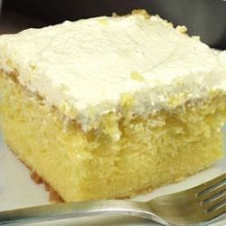 Pineapple Lemon Cake Recipe - Super moist, light for summer.  Everyone will want this recipe!