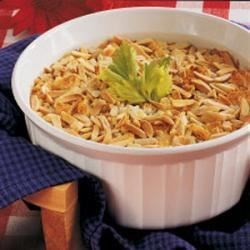 Almond Celery Bake