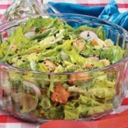 Mixed Greens Salad with Tarragon Dressing