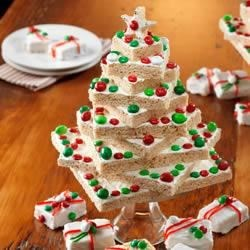 Oh Krispies* Tree, Oh Krispies* Tree! Recipe - Start a new family tradition with this delicious Christmas tree.
