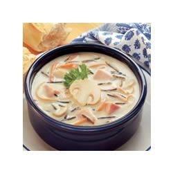 Wild Rice 'n Ham Soup