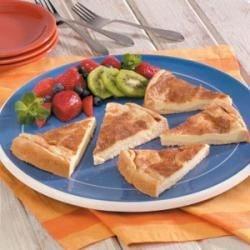 Cream Cheese Dessert Wedges