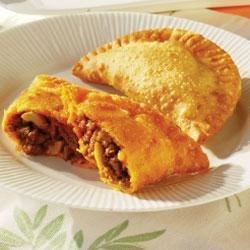Empanadas (Beef Turnovers) Recipe - The perfect pastry for all meals! Empanadas, or beef turnovers, are discs of pastry packed with meat. Some turnover recipes call for all manner of fillings, but this GOYA(R) Empanada recipe features a delicious tomato, onion, garlic and beef mixture. You can enjoy empanadas as an appetizer, a main dish, or even after your main course. Use GOYA(R) Discos, or frozen pastry rounds, for a flaky beef turnover that will make your mouth water.