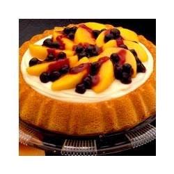 Blueberry and Peach Shortcake