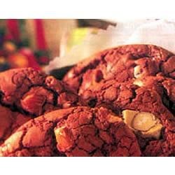 Double Chocolate Cookies by EAGLE BRAND(R) Recipe - Gooey chocolate cookies are studded with white chocolate chips. These would make a dazzling contrast to regular chocolate chip cookies on a cookie tray.