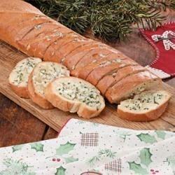 Blue Cheese Garlic Bread