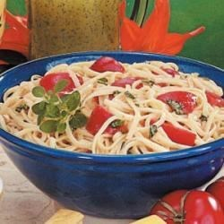 Tomato Basil Linguine