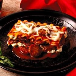 No-Fuss Lasagna by Johnsonville(R) Recipe - Flavor Up that classic recipe!