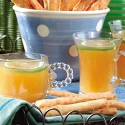 Aileen's Punch Recipe - Pineapple juice, apricot nectar and limeade concentrate are combined with lemon-lime soda.