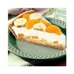 Creamy Banana Mandarin Pie