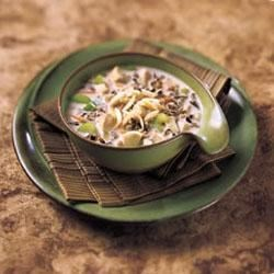 Slow Cooker Wild Chicken & Wild Rice Soup
