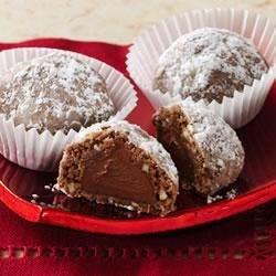 Chocolate Snowballs (Cookie Mix)