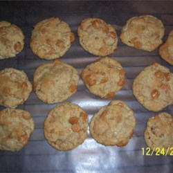 Attempting the Oatmeal Butterscotch Cookies