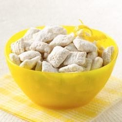 Chex(R) Lemon Buddies Recipe - Stir up a delicious snack that is bursting with a bright lemony flavor!