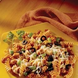Pizza Pasta by Johnsonville(R) Recipe - Add some life to your pasta!