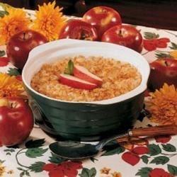 Grandma's Apples and Rice