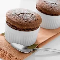 Heavenly Chocolate Souffles