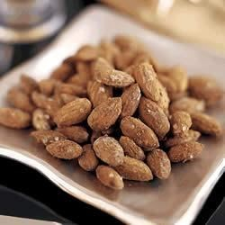 Wasabi Almonds Recipe - Add some Asian-inspired flare to your snacking with these spicy wasabi-flavored almonds.