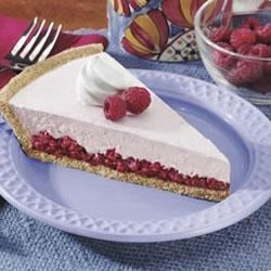 Raspberry Shortcake Pie
