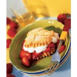 Melt-away Strawberry Shortcakes