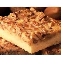 Pecan Pie Bars Recipe - These chewy pecan pie bars are a great snack, and fun for the whole family to prepare.