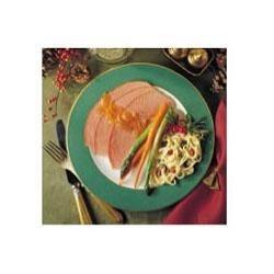 Orange-Honey Glazed Ham
