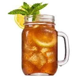 Cranberry Orange Iced Tea Recipe - When the temperature rises, stay cool with this cranberry and citrus iced tea.