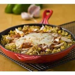 Potato Enchilada Skillet