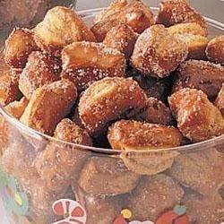 Sweet Pretzel Nuggets