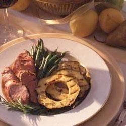 Molasses-Grilled Pork Tenderloin