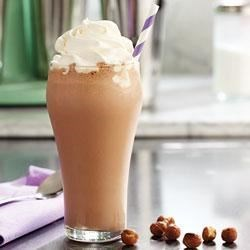 Chocolate Hazelnut Milkshake Recipe - A delicious and easy milkshake with mocha cappuccino flavors makes a refreshing snack.