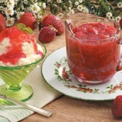 Strawberry Rhubarb Sauce