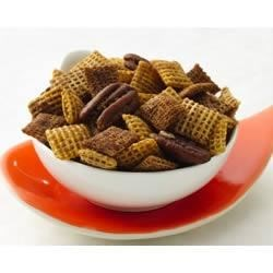Chex(R) Pumpkin Pie Crunch Recipe and Video - Butter, brown sugar and spice make a sweet and crunchy cereal mix.