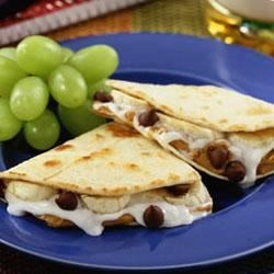 Chocolate Quesadillas