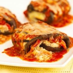 Classico Eggplant Rollatini  Recipe - A quick stint on the grill gives eggplant slices a pleasing hint of smoke. Serve with a tartly dressed green salad.