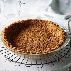 Shreddies Pie Crust Recipe - This easy pie crust made with crushed Post Shreddies Cereal is ready to fill in 15 minutes.